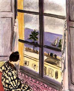 bofransson: Woman at the Window, Nice Henri Matisse - 1926