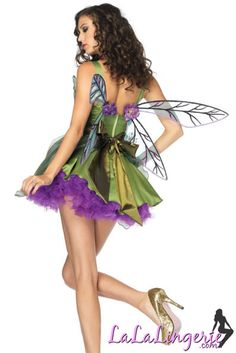 Forest Nymph Fairy Costume