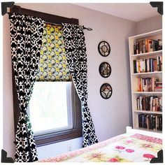 Fabric Covered Window Shade Tutorial- Jacquelynne Steves