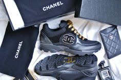 my new Chanel sneakers