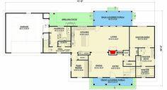 Modern Farmhouse Plan with Flexible Bonus Over Garage - 28916JJ | Architectural Designs - House Plans