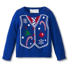 toddler boys ugly christmas sweater