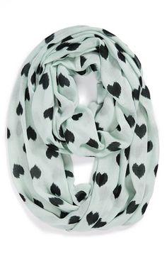 heart infinity scarf