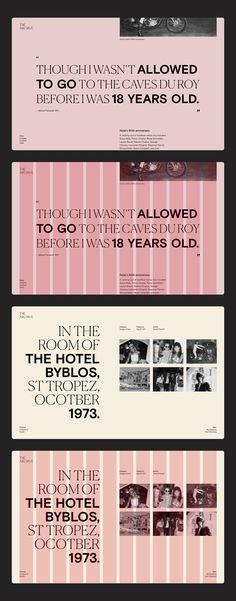 Typography combinati