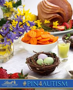 Making or enjoying Easter dinner is a favorite Easter tradition of mine.         [I just donated 1 dollar to the Autism cause by pinning this photo. Learn how you can #Pin4Autism too by clicking on the image above.]