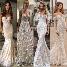 2018 trend gelinlik modellerini derledim ❤️ Düğün sezonu açıldığına göre artık bakmamız lazım Siz olsanız hangisini tercih ederdiniz?…