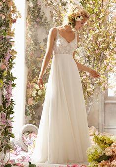 Voyage by Madeline Gardner 6771 Wedding Dress - The Knot