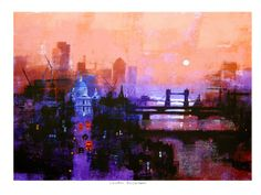 LONDON DAYBREAK by Colin Ruffell.
