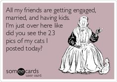All+my+friends+are+getting+engaged,+married,+and+having+kids.+I'm+just+over+here+like+did+you+see+the+23+pics+of+my+cats+I+posted+today?