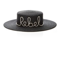 cb83d2d6691f7 Eugenia Kim Rebel Sun Hat (£375) ❤ liked on Polyvore featuring accessories