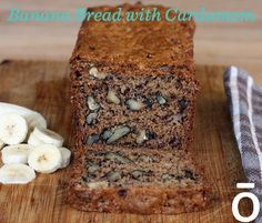 Banana Bread with doTERRA Cardamom essential oil
