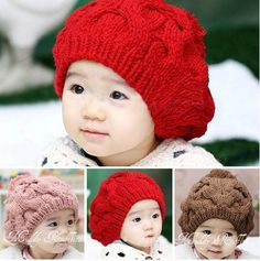 * Chunky Cable Knit Beanie  *