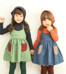 AMBER) ヨハイムワンピース(2色) 12/FW - 韓国子供服(Annika・AMBER・peachなど)のマニマカロン