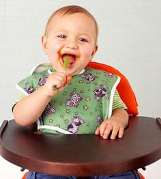 Play with your food? Why not? These four fun products make mealtime a blast for you and your baby.