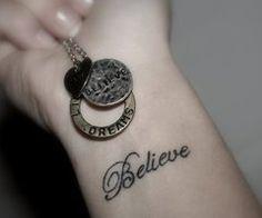 wrist tattoos<3