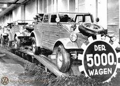 5,000. Kübelwagen