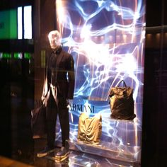 LK By Lincoln Keung: Emporio Armani Window Display -- Habour City in Hong Kong