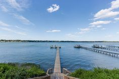 2305 Haversham Close, Great Neck.  Panoramic views of Broad Bay and First Landing State Park.