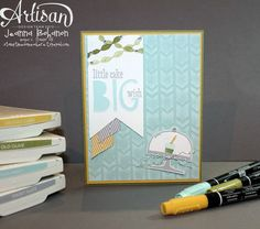 Big Wish birthday card - Jeanna Bohanon 2013 Stampin' Up! Artisan Design Team