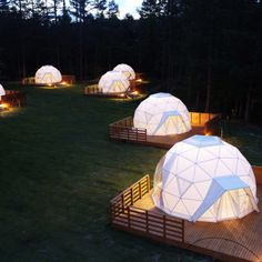 Ideas tent camping glamping campsite for 2019 Bell Tent Camping, Camping Glamping, Campsite, Camping Outdoors, Camping Ideas, Bungalow, Bubble Tent, Geodesic Dome Homes, Shower Tent