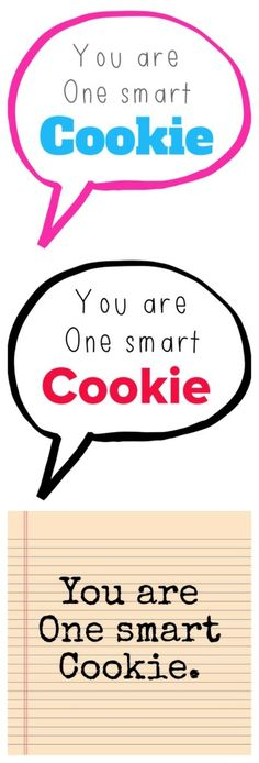One Smart Cookie – Free Printable