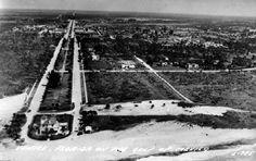 Aerial view - Venice, Florida 1940's