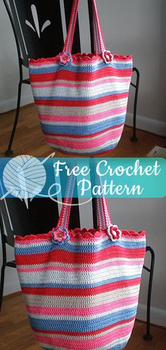 Tote Bag [CROCHET FREE PATTERNS] - All About Crochet