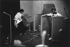 Mick and Keith in the studio / Exile in Nellcote by Dominique Tarlé