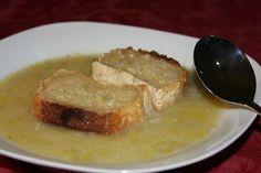 Failsafe Foodie: Soupe aux Poireaux (leek soup)