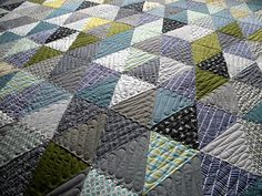 Love the quilting on this.