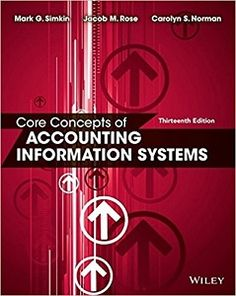 Advanced financial accounting 11th edition christensen cottrell budd core concepts of accounting information systems 13th edition solutions manual by simkin norman rose free download fandeluxe Image collections