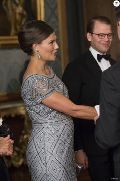 "Sweden Royal Family attended the official dinner of the ""Sweden Dinner"" at the Royal Palace of Stockholm on September 4, 2015."