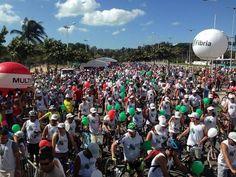 Bom pra Cabeça & Rádio Clube da Boa Música - PostsPedala Sustentável reunirá ciclistas domingo na Praia de Camburi