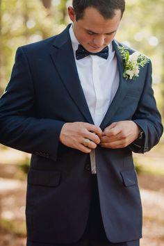 Groom gets ready, Brookgreen Gardens, Murrells Inlet, South Carolina. Kate Timbers Photography. http://katetimbers.com #katetimbersphotography // Charleston Wedding Photography // Real Wedding Inspiration
