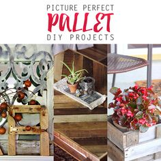 Picture Perfect Farmhouse Style Pallet DIY Projects - The Cottage Market