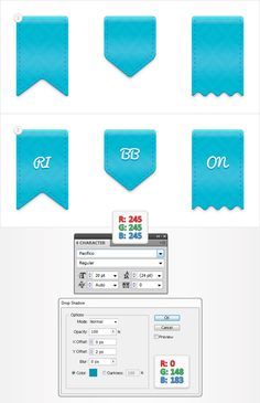 Quick Tip: How to Create a Simple Set of Ribbon Icons - Tuts+ Design & Illustration Tutorial