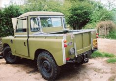 "Land Rover Series III 88"" pick-up."