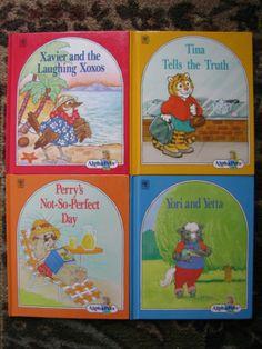 Alphapets Lot 4 HC Books Glossy Tina Tells the Truth Xavier Yori and Yetta VGUC