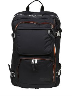 EASTPAK TRAWEL MILITARY BOMBER BACKPACK, BLACK. #eastpak #bags #backpacks #