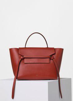 f2eec39d1536 Mini Belt Bag in Supersoft Calfskin - Céline Bolsa Da Embreagem, Celine,  Carteiras