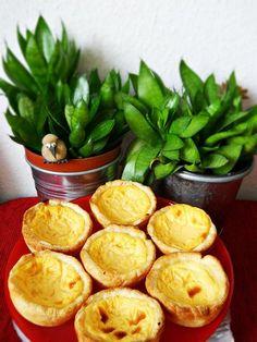 Pastéis de Belém (Portugál)(kosában sült krémes puding)