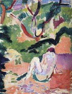 Nude in a Wood  - Henri Matisse