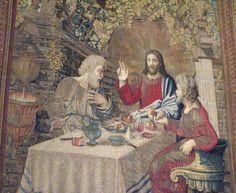 Emmaus Disciple with Jesus Musei Vaticani Sala degli Arazzi - Roma   #TuscanyAgriturismoGiratola
