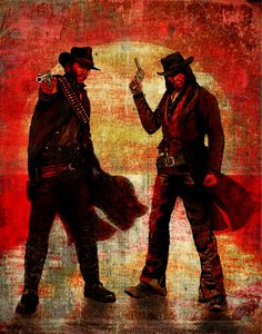 'Brothers' Poster by Madison Thames Red Dead Redemption 1, John Marston, Read Dead, Cowboy Art, Canvas Prints, Art Prints, Wild West, Sell Your Art, Game Art