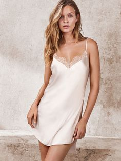 Shop our wedding & bridal lingerie and find sexy, white bodysuits, teddies, robes and more. Bridal Nightwear, Bridal Lingerie, Luxury Lingerie, Vintage Lingerie, Lingerie Sleepwear, Sexy Lingerie, Pretty Lingerie, Beautiful Lingerie, Pyjama Satin