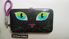 Cute Phone Clutch Wristlet Fits All iPhones & Most Android & Smartphones