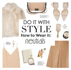 """""""Do it with style: neutrals"""" by honestlyjovana ❤ liked on Polyvore featuring Alice + Olivia, Balenciaga, Karl Donoghue, Zara, Chanel, Chloé, Philip Kingsley, Maison Margiela, Coach and neutrals"""