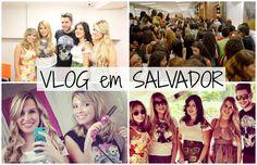 Vlog: Bate e volta em Salvador (Encontrinho do Quarteto). Viagem salvador. Taciele Alcolea. Niina Secrets
