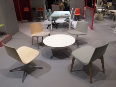 Enea's stand at the 2015 Stockholm Furniture Fair.  #sff205 #sdw2015 #redmembers #design #lottus #eneadesign #lievorealtherrmolina #contract #collectivities #seating