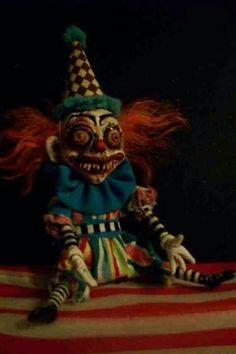 Weird clown doll